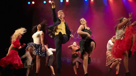 Young performers in the Anna Fiorentini show at the Hackney Empire (Photo: Peter Gettins)