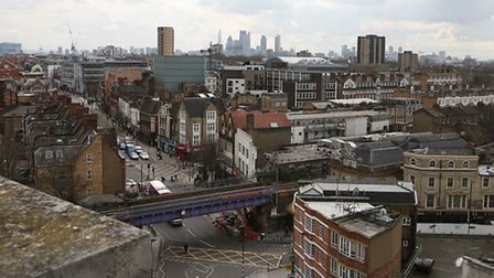 Hackney Council has unveiled draft plans to transform the centre of Hackney. Picture: Melissa Page