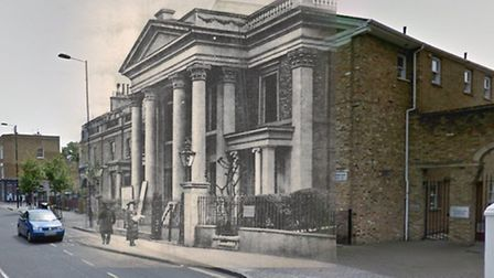 Abney Congregational Church stood in Church St opposite the cemetery (built 1869). It was bombed dur