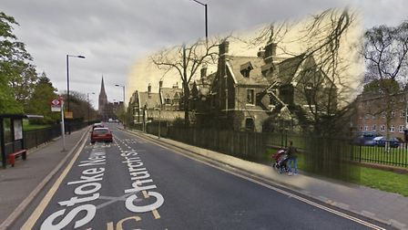 Kennaway Hall was a large Church Street mansion in Paradise Row opposite Clissold Park. It was demol