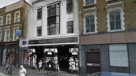 Marks & Spencer, 156 Stoke Newington High St (1914-1972). Archive picture: M&S Company Archive.