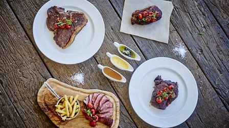 Steaks at Marco Pierre White Steakhouse. (Photo: Daniel Graves Photography)