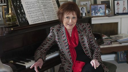 Marjorie Wallace, founder & CEO of SANE, at home in Highgate in a Stella McCartney jacket. Photo: Ni