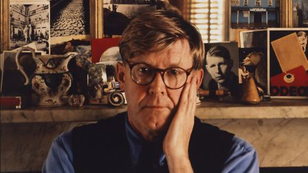 Playwright Alan Bennett. Picture: National Portrait Gallery