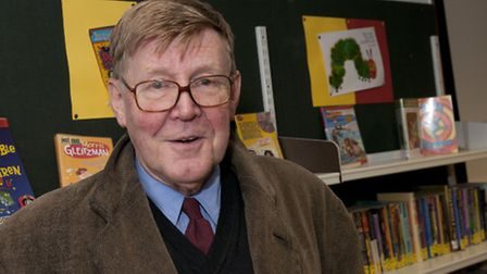 Alan Bennett at Official Opening of Primrose Hill Community library