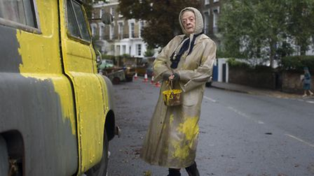 Dame Maggie Smith plays Miss Shepherd. Picture: PA Photo/Sony.