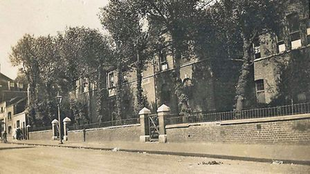 The German Orphanage, Norfolk Road (now Cecilia Road), Dalston. 1930