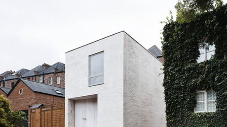 The imprint of the house measures just 68 sq m. Photo credit: Rory Gardiner
