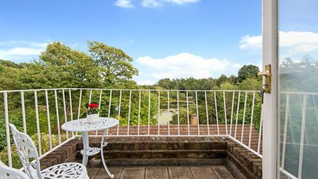 Unparalleled views are offered from the terrace