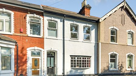 This three-bedroom house in Cricklewood was a cottage for higher grade railway workers