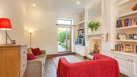 The property has been opened out to create a comfortable home for a small family