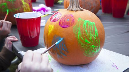 Spare the stress of overseeing children using sharp knives with these no carve pumpkin projects