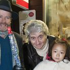 Tom Conti switched on Belsize Park Christmas lights in 2014