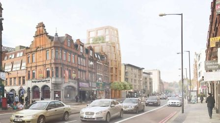 Divisive: an impression of plans for 317 Finchley Road