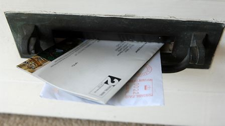 Police have warned residents to ensure their mail is protected Picture: PA Images/David Jone