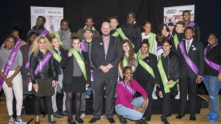 The newly elected members of Hackney's Youth Parliament. (Photo: Hackney Council/ Sean Pollock)