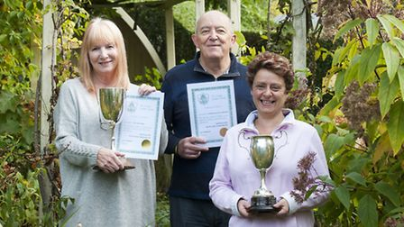 Two Hampstead Garden Suburb Horticultural Society members gardens win top prizes at The London Garde