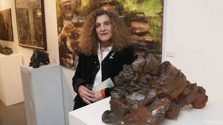 'Chaos' an Exhibition curated by Nicole Farhi at Hampstead School of Art. Picture: Nigel Sutton