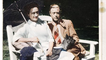 The Duke and Duchess of Windsor. Picture: Doreen Spooner