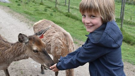 Finley Robertson, 10, who wants to be a nature presenter
