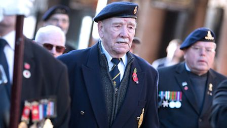 Remembrance Sunday in Hackney. Picture: Gary Manhine