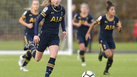 Spurs Ladies' Sophie Mclean. Pic: Wusphotography.com