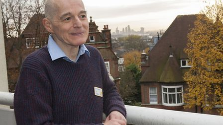 The Revd Preb Tony Kyriakides-Yeldham Chaplain at Marie Curie Hampstead Hospice