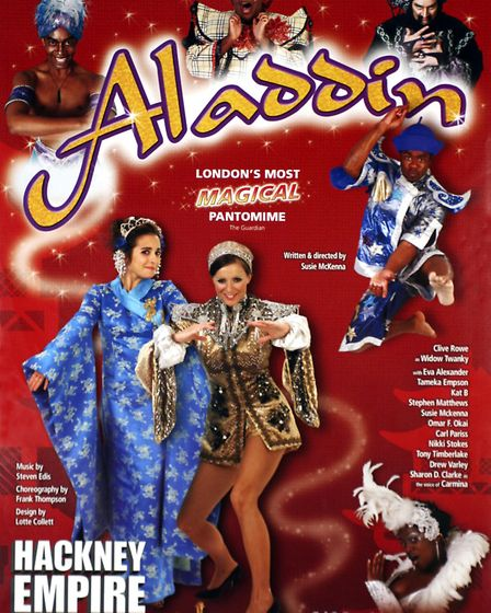 A poster from Aladdin in 2005