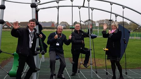 Simon Walker of Waveney Norse, Graham Catchpole of Waveney District Council, Andy Wilson-Sutter of S