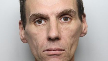 Anthony Hinton, 48, who stole items from Kings Cross trains Picture: BTP
