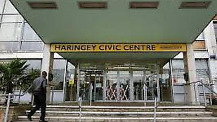 The incident took place after a planning meeting at Haringey Civic Centre
