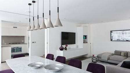 The family love to entertain, so the dining area is a big focus