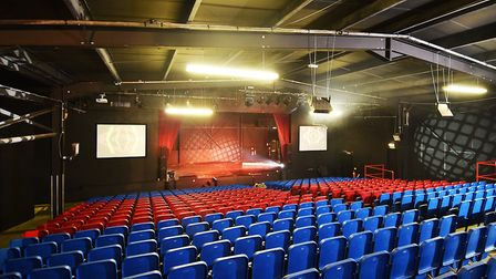 After months of renovation work, the Castle Theatre will host Woodys Christmas Spectacular. Picture: