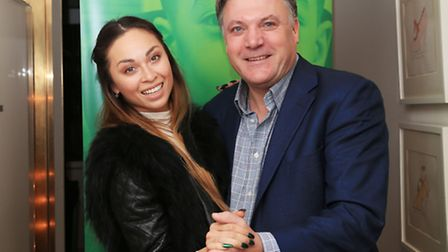 Ed Balls with his dance partner Katya Jones. Diane Abbott believes they could go all the way on the