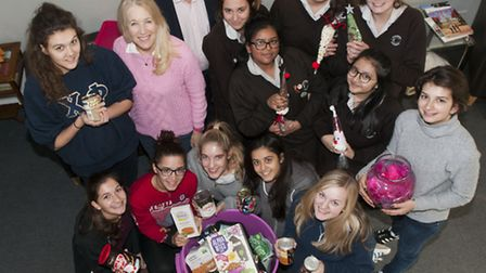 Alexandra Wylie Tower Foundation food collection at Channing School