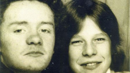 Police issued handout of John Duffy (left) and David Mulcahy as teenagers. David Mulcahy was found g