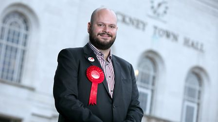Mayor Philip Glanville outside the town hall. (Picture: Garry Manhine).