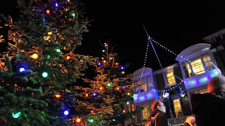 Southwold Christmas light will be switched on this Saturday. Picture: Nick Butcher