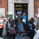 Demonstration to save Muswell Hill library. Photo: Nigel Sutton
