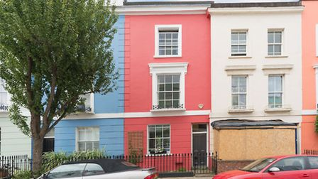 A bright terraced house on this popular Kentish Town street