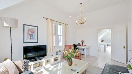 This light, bright flat is probably as close to Hampstead as you can get at this price