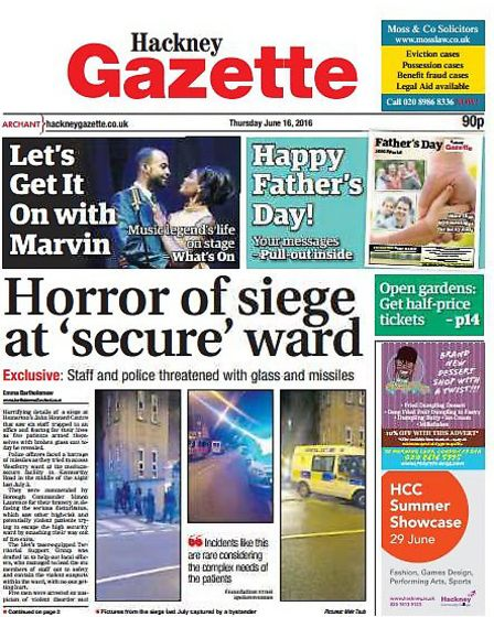 The centre has hit the Gazette headlines in the past