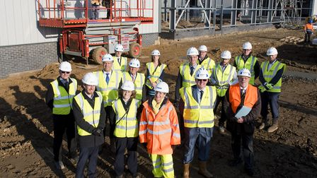 Work is well under way on the new Phoenix enterprise park on the South Lowestoft Industrial estate.