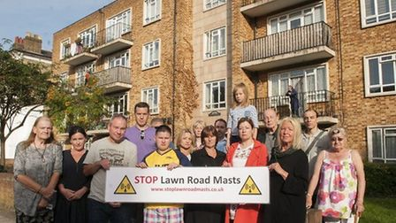 Troyes House residents and neighbours are jubilant about the decision to block the phone masts