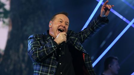 Jim Kerr of Simple Minds. Picture: David Davies/PA