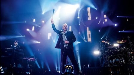 Jim Kerr of Simple Minds. Picture: Alan Wild
