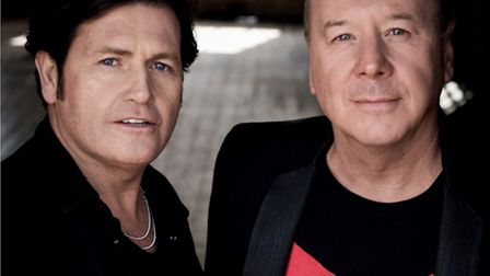 Charlie Burchill and Jim Kerr Simple Minds. Picture: Paul Cox