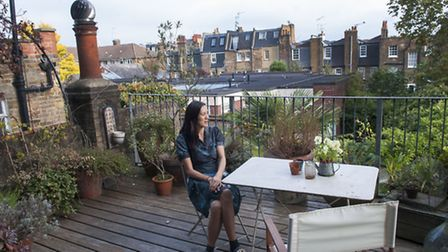 Photographer Christina Wilson at home in Camden Town