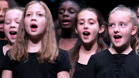 Youngsters at the music gala (Photo: Hackney Council / Gary Manhine)