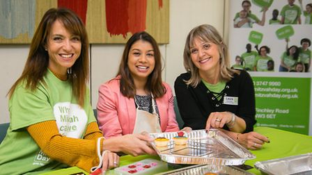 Mitzvah Day is launched with Daniela Pears, Tulip Siddiq MP, and Laura Marks. Photo: Yakir Zur